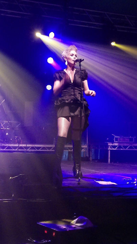 Vicky Jackson Pink Tribute SomerRock 2017